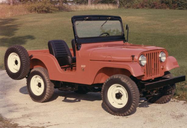 Jeep CJ-5 1955 (Foto: Divulgação)
