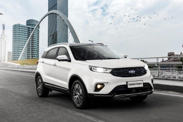 A Ford vendeu todas as 250 unidades do novo SUV Territory em duas semanas de pré-venda de lançamento