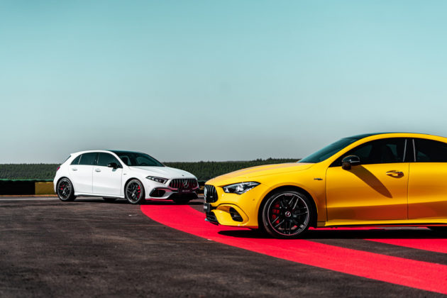 Mercedes-AMG A 45 S e CLA 45 S (2)