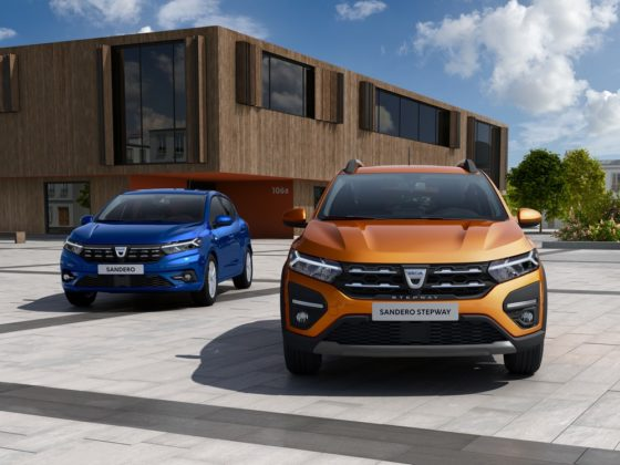 Renault Sandero de novo visual