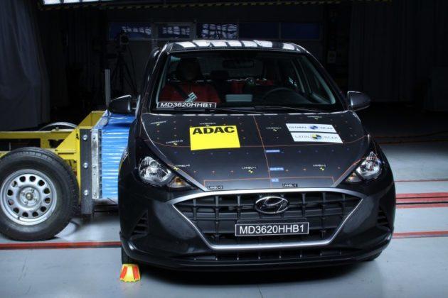 Hyundai HB20 crash-test