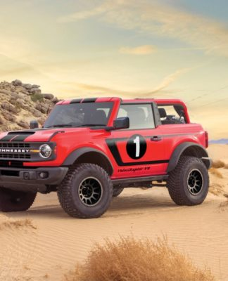 Hennessey Performance Engineering coloca 750 cv de potência no Ford Bronco