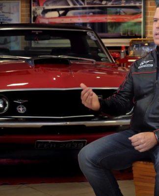 Coleção de Mustang de Marcelo começou há 10 anos, antes do modelo ser importado oficialmente para o Brasil