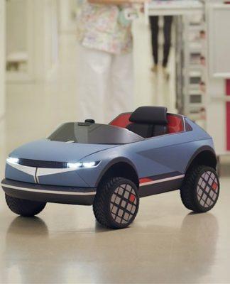 Minicarro elétrico da Hyundai