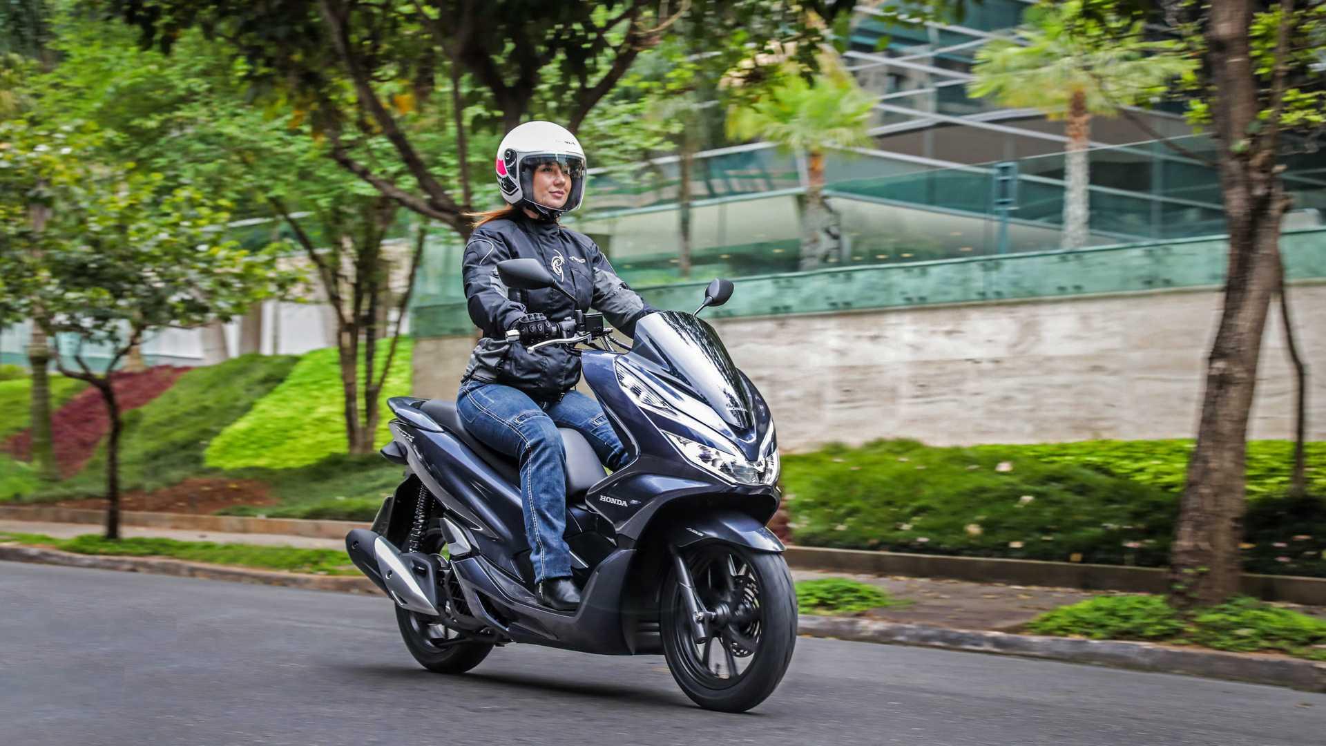 6º Honda PCX 150: 26.659 . Foto: Divulgação