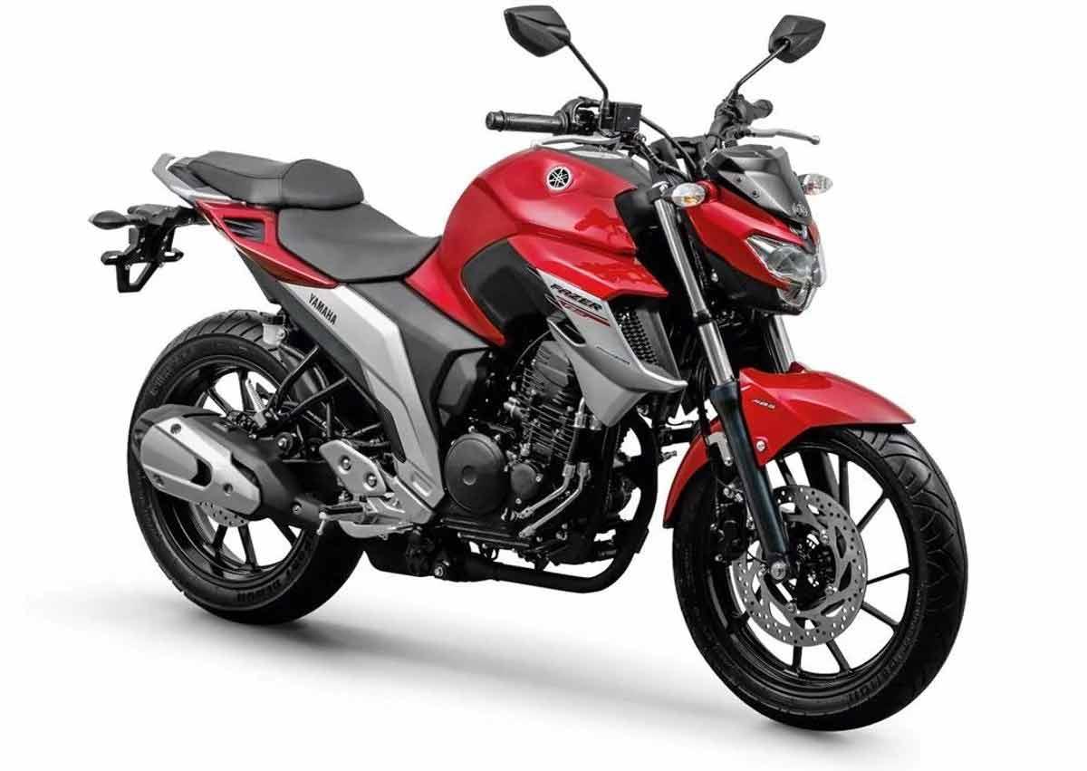 7º Yamaha Fazer 250: 23.655 . Foto: Divulgação