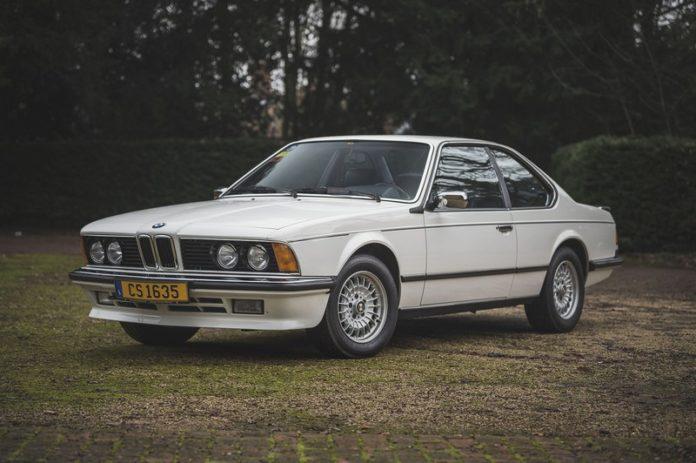 BMW 635CSi 1986 Sean Connery
