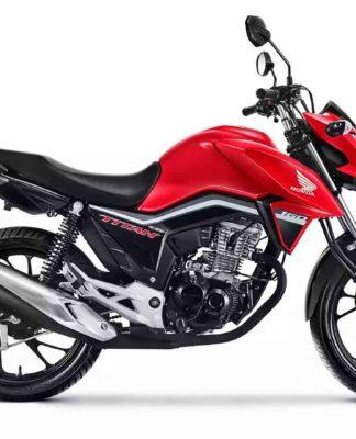 Honda CG 160. Foto: Divulgação