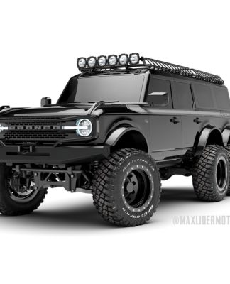 Ford Bronco 6x6 Maxlider Brothers Customs