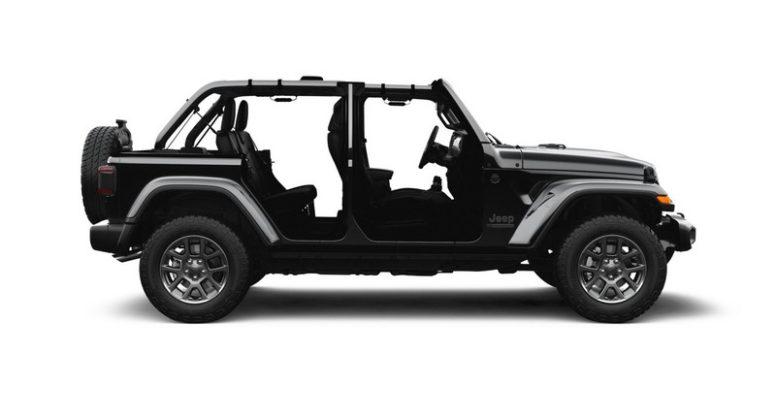 Jeep Wrangler 80 anos