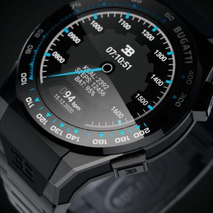 Smartwatch Bugatti