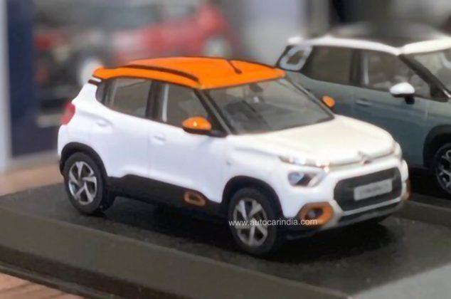 Desenho do novo Citroën C3 SUV vaza em miniatura