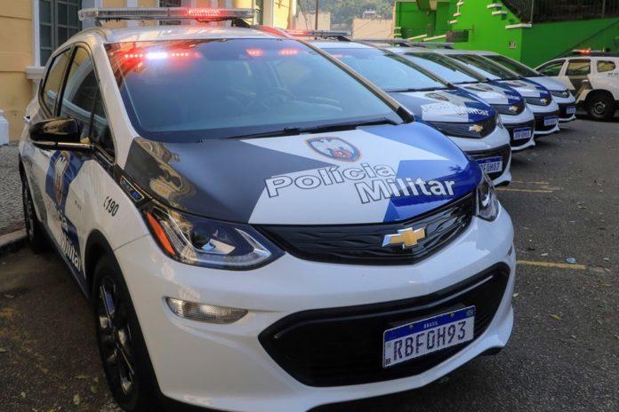 Elétrico Chevrolet Bolt vira viatura policial no ES