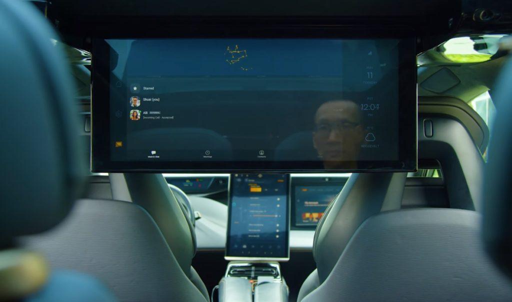 """Elétrico Faraday Future FF91 terá multimídia com tela de 27"""""""