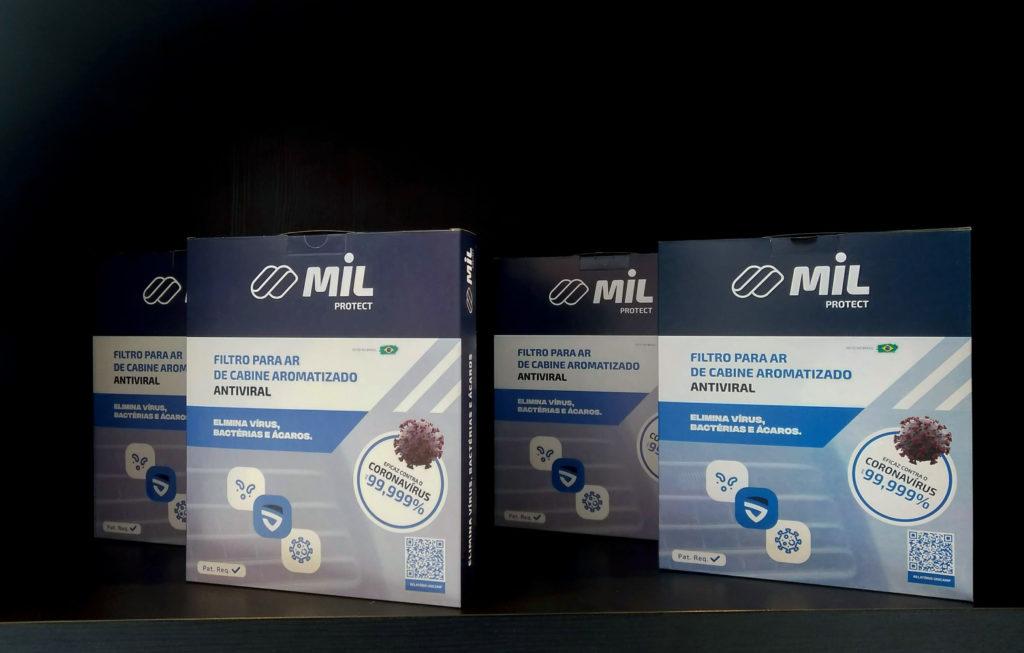 Empresa brasileira lança filtro de ar-condicionado antiviral