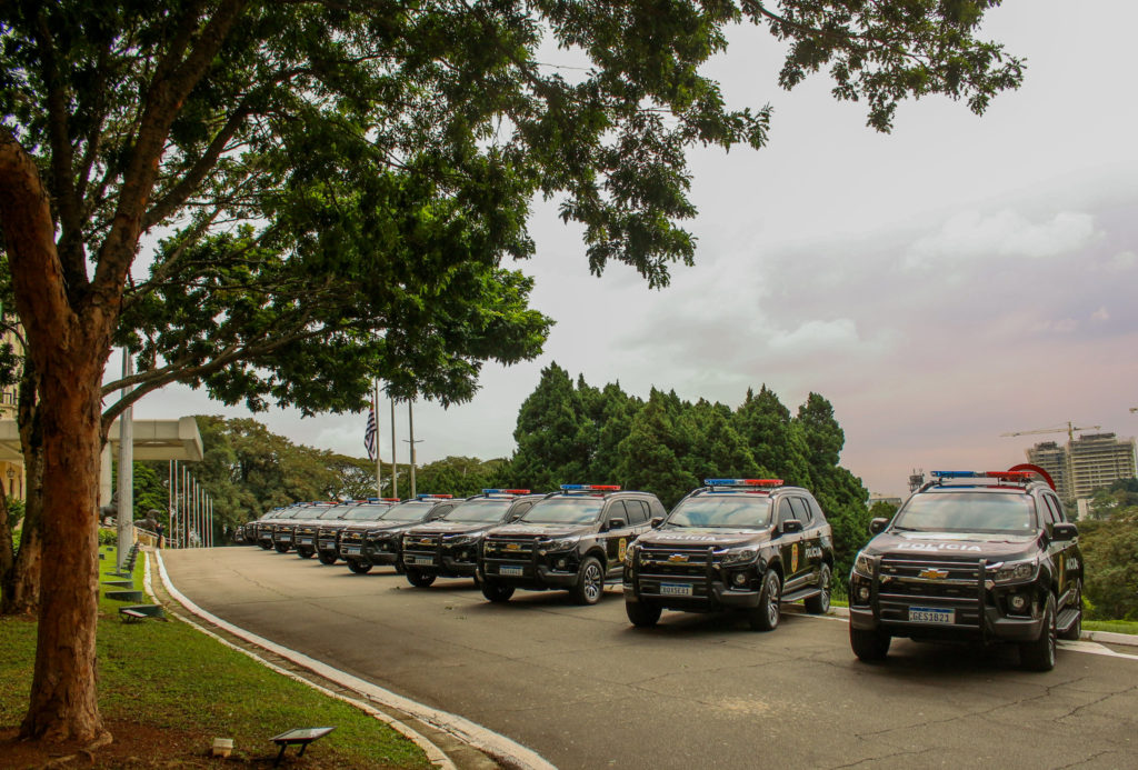 Chevrolet Trailblazer da Polícia Civil de São Paulo