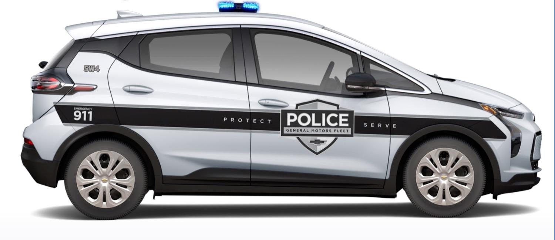 Chevrolet Bolt EV e Bolt EUV polícia