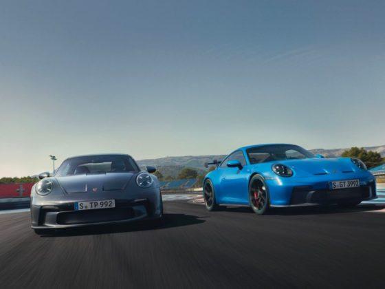 911 GT3 Touring e 911 GT3