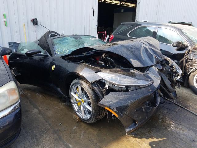 Ferrari 812 GTS acidente
