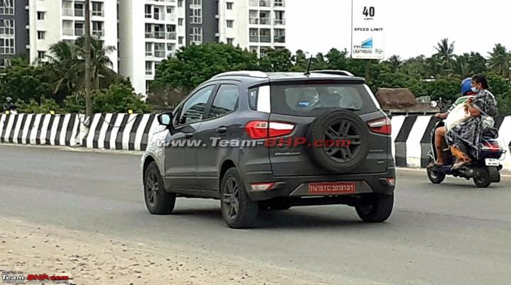 Ford EcoSport irá ganhar novo visual na Índia
