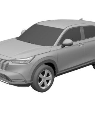 Novo Honda HR-V tem desenho revistrado no Brasil