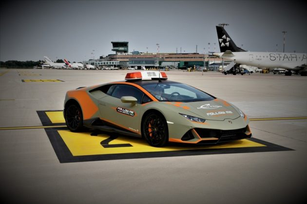 Lamborghini Huracán EVO Aeorporto de Bolonha