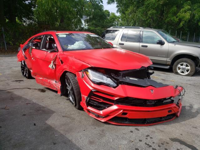 Lamborghini Urus batido