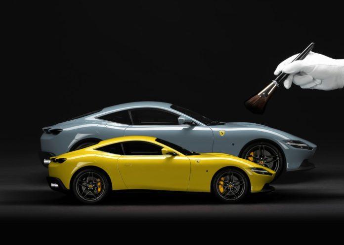 Por US$ 3.200, Ferrari permite criar miniatura personalizada dos seus carros