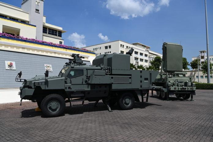 Conheça a viatura 4x4 do Exército de Singapura capaz de lançar morteiros