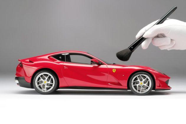 Ferrari permite criar miniatura personalizada do seu carro