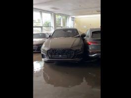Enchente deixa concessionária da Audi destruída na Alemanha; veja o vídeo