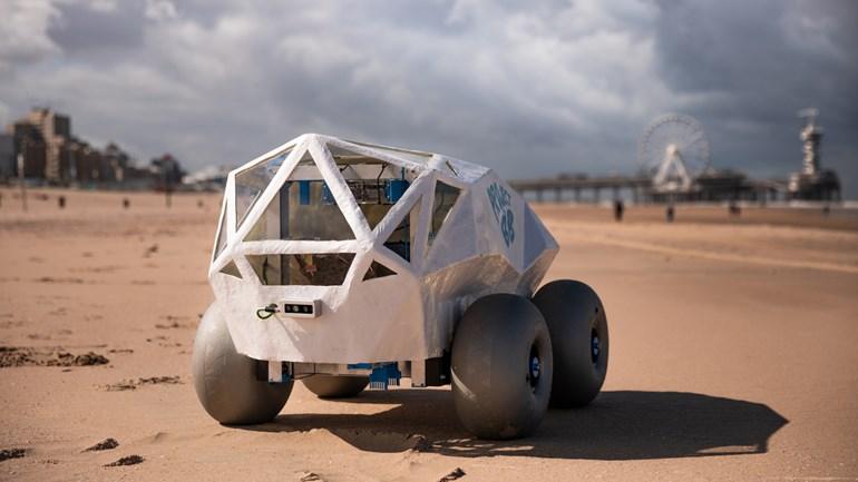 Empresa holandesa cria robô autônomo para recolher bitucas de cigarro; saiba mais