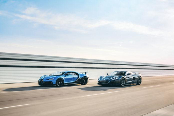 Bugatti e Rimac