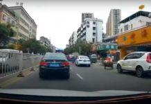 Câmera flagra momento em que carro explode no meio do trânsito; veja o vídeo