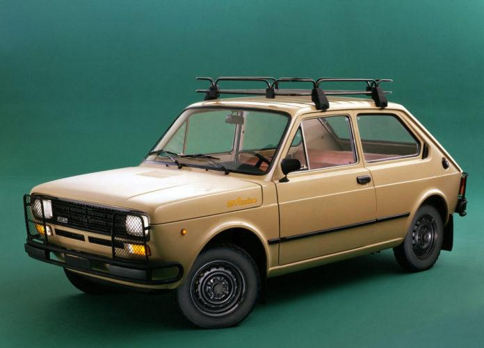 Fiat 127 Rustica era o