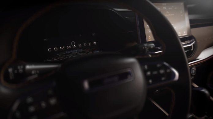Interior do novo Jeep Commander é revelado em vídeo