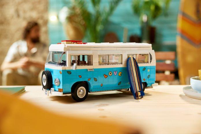 Volkswagen Kombi motorhome ganha novo kit Lego