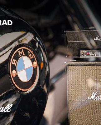 BMW Motorrad se junta à Marshall para desenvolver sistemas de som