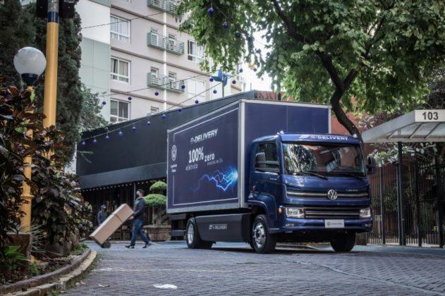 Caminhão elétrico VW e-Delivery chega em versões de 11 e 14 toneladas