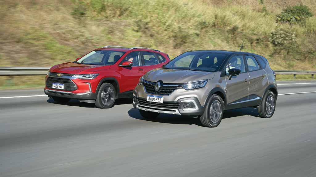 Chevrolet Tracker vs Renault Captur